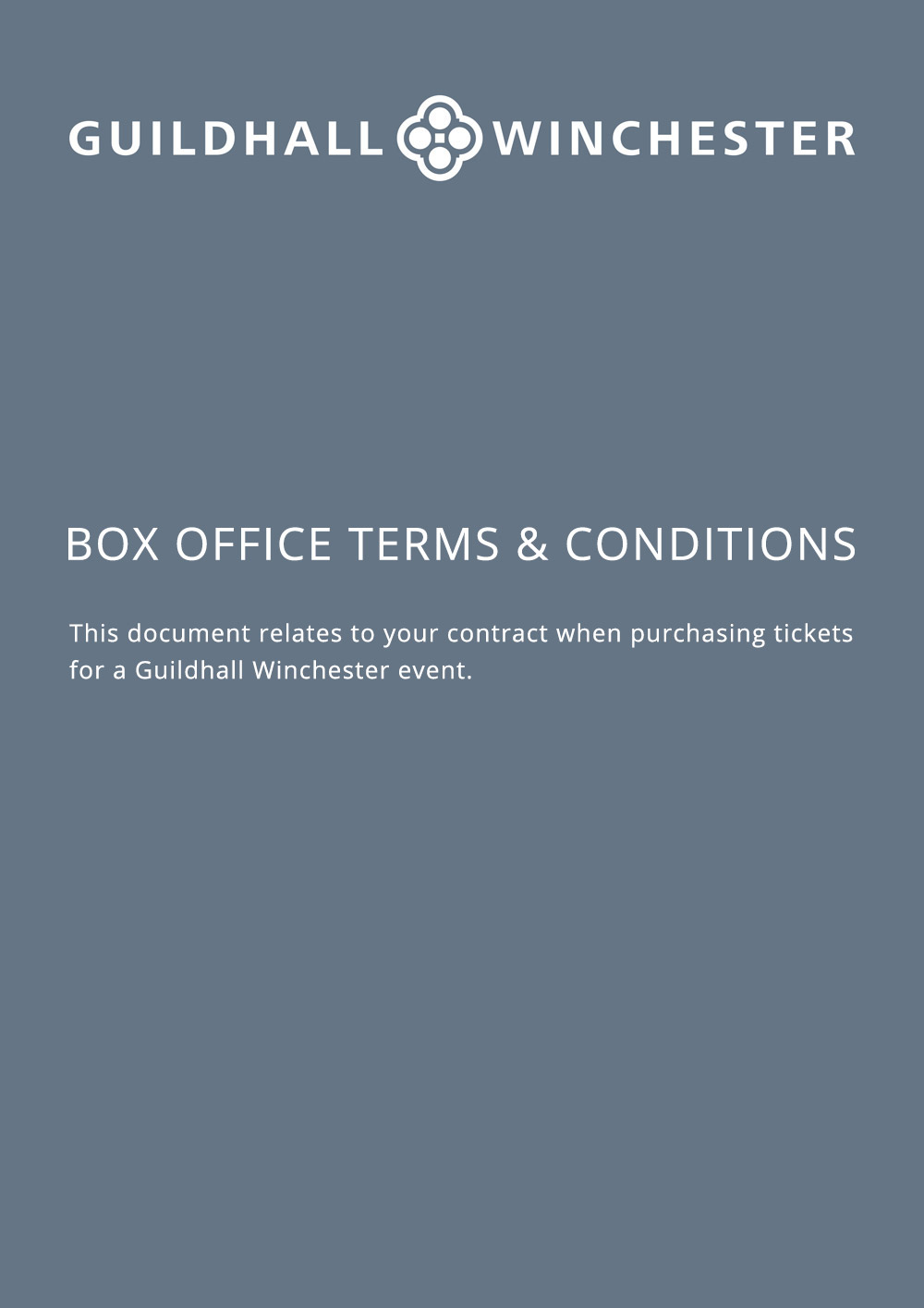 Box Office Terms