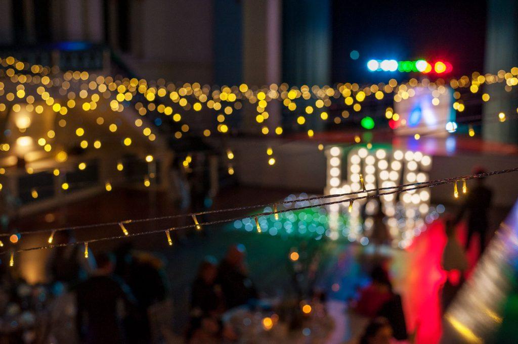Bapsy Hall fairy lights