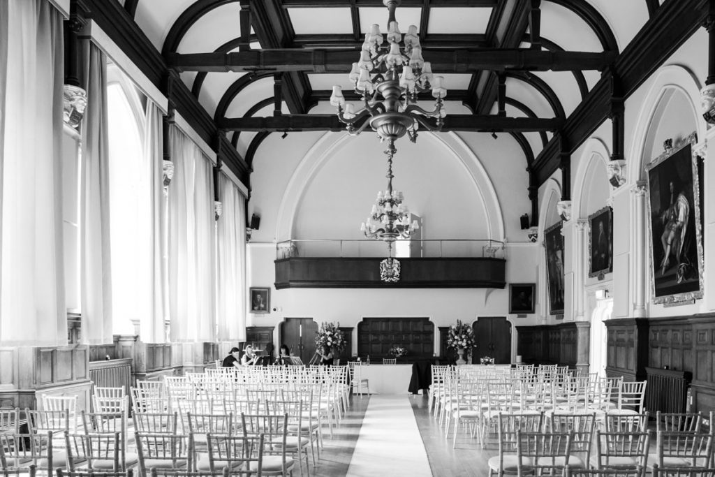King Charles Hall ceremony